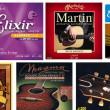 アコースティックギター弦色々