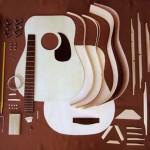 木材学 アコースティックギターに使われる材と構成