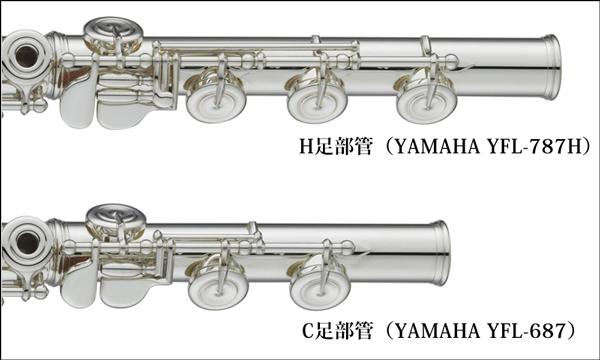 H足部管とC足部管