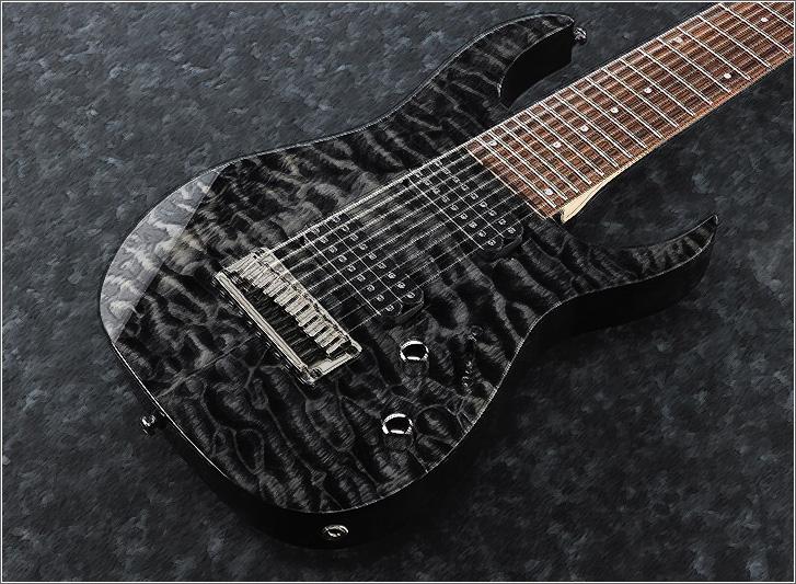 IBENEZ9弦ギターRG9QM