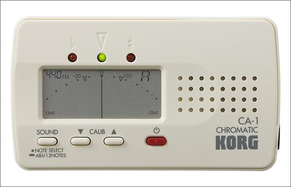 カード型チューナーの代表格_KORG_CA-1