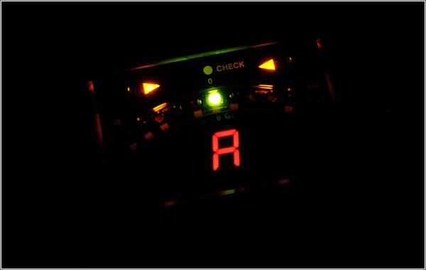 ペダルチューナーTU-2の視認性
