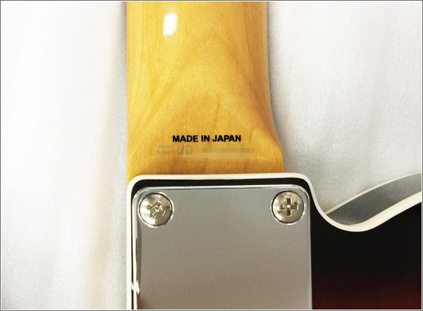 FenderJAPANのシリアルナンバー