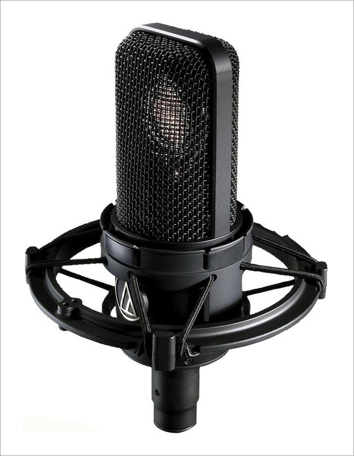 ボーカル用コンデンサーマイクの定番-Audio-technica-4040