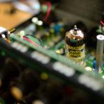 スタンバイスイッチと真空管アンプの電源の付け方